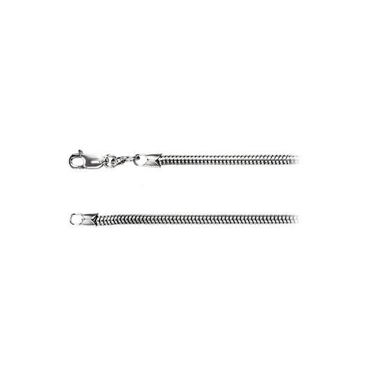 Preload https://img-static.tradesy.com/item/23469074/white-sterling-silver-25mm-round-snake-chain-necklace-0-0-540-540.jpg