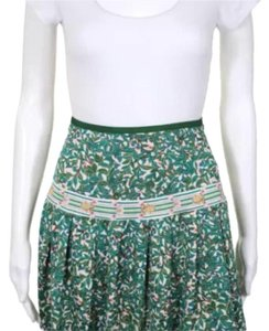 Diane von Furstenberg Mini Skirt green