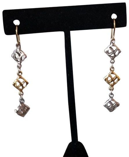 Preload https://img-static.tradesy.com/item/23469117/david-yurman-gold-vintage-18k-silver-logo-long-dangle-earrings-0-4-540-540.jpg