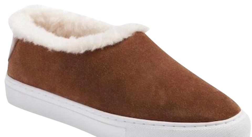 ff8c9dedd512a6 Tory Burch Brown Miller Suede Shearling Sneaker Boots Booties. Size  US 6  ...