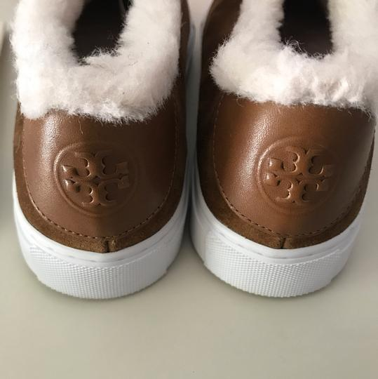 Tory Burch Shearling Ugg Brown Boots Image 5