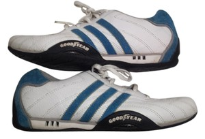 Adidas /Goodyear (Mens 6/Womans 7.5) Electric Blue/White Athletic
