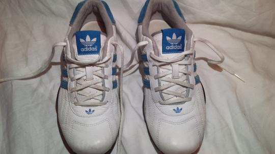 Adidas /Goodyear (Mens 6/Womans 7.5) Electric Blue/White Athletic Image 1