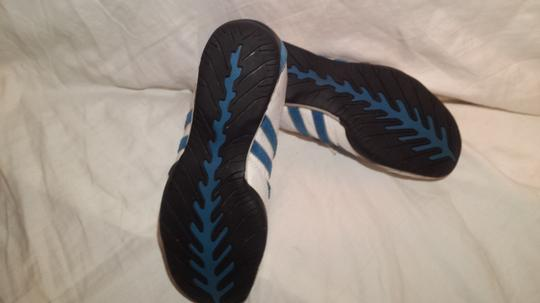 Adidas /Goodyear (Mens 6/Womans 7.5) Electric Blue/White Athletic Image 5