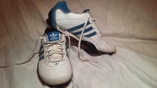 Adidas /Goodyear (Mens 6/Womans 7.5) Electric Blue/White Athletic Image 6
