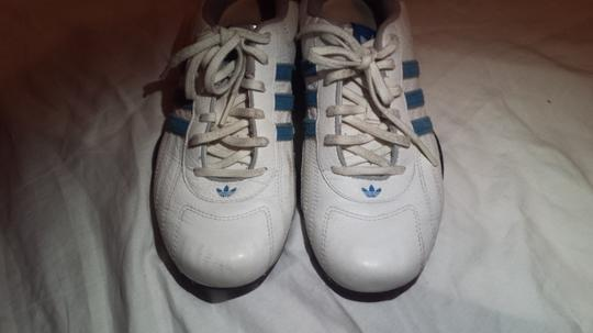 Adidas /Goodyear (Mens 6/Womans 7.5) Electric Blue/White Athletic Image 7