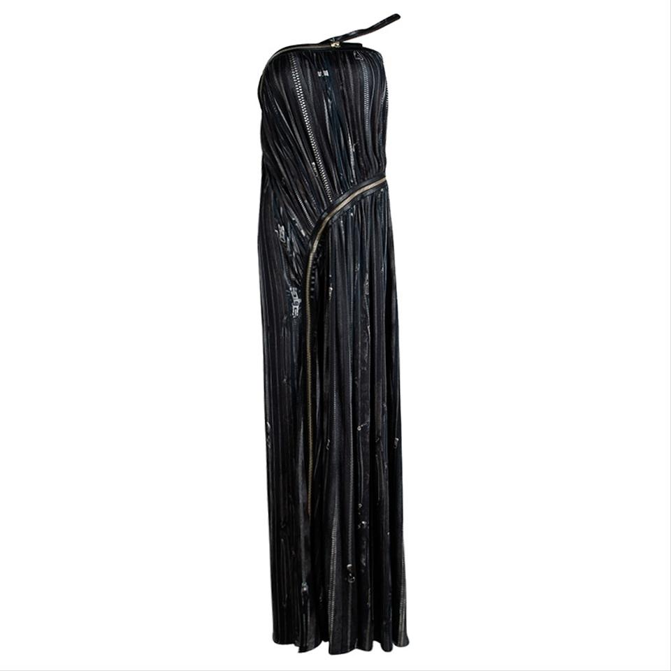 Zip Dress Femme Paul Casual Maxi Gathered Multicolor Detail Gaultier Jean qOPzaxwXw