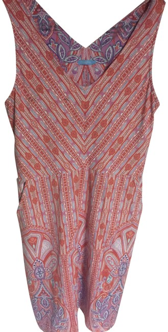 Item - Pink Gently Usef Short Casual Dress Size 6 (S)