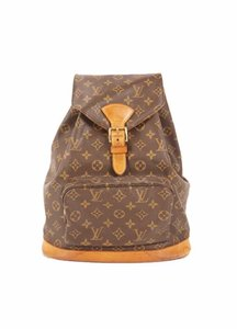 Louis Vuitton Leather Vintage Limited Edition European Luxury Backpack