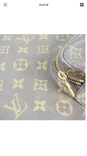Louis Vuitton Leather Vintage Limited Edition European Luxury Backpack Image 1