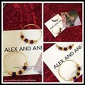 Alex and Ani ALEX AND ANI CRYSTAL GEO JEWEL BEADED HOOP EARRINGS Image 2