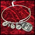 Alex and Ani ALEX AND ANI KENTUCKY DERBY HORSE SILVER CHARM BANGLE Image 1