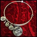 Alex and Ani ALEX AND ANI KENTUCKY DERBY HORSE SILVER CHARM BANGLE Image 2