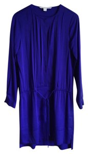 Diane von Furstenberg short dress Electric Purple on Tradesy