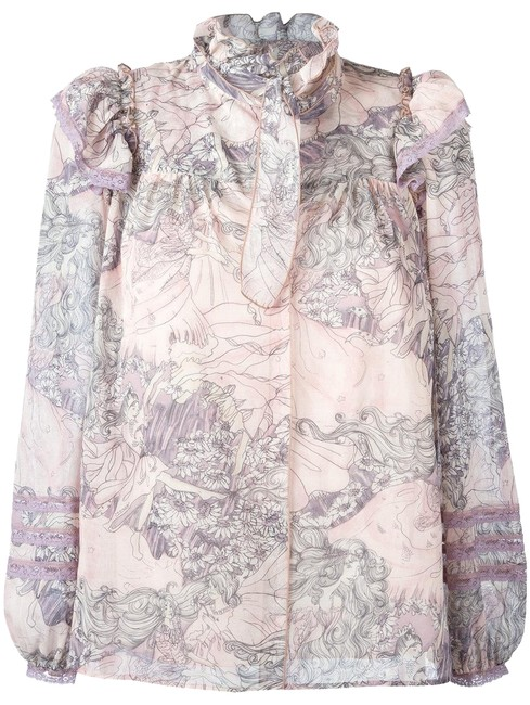 Preload https://img-static.tradesy.com/item/23470095/marc-jacobs-pink-floral-cotton-voile-ruffle-collar-blouse-m4006724-halter-top-size-2-xs-0-2-650-650.jpg