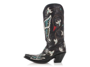 Corral Boots Butterfly Cowboy Cb.ep0326.05 Western Black Boots