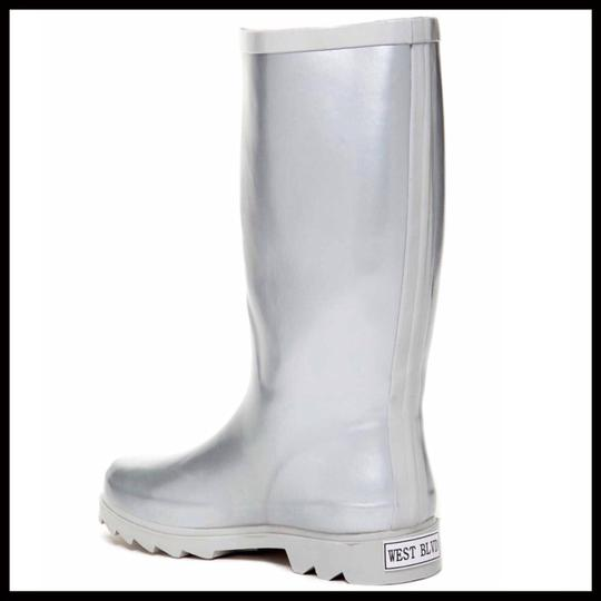 West Blvd Silver Boots Image 4