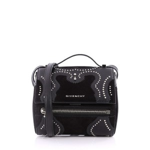 Givenchy Leather Suede Cross Body Bag