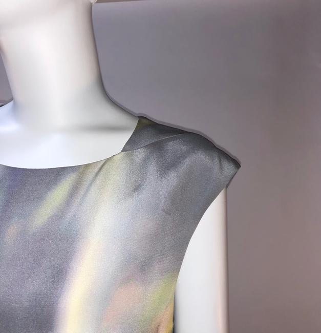 Theyskens' Theory Silk Print Sleeveless Top Multi-color Image 2