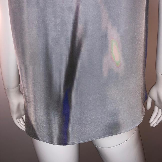 Theyskens' Theory Silk Print Sleeveless Top Multi-color Image 5