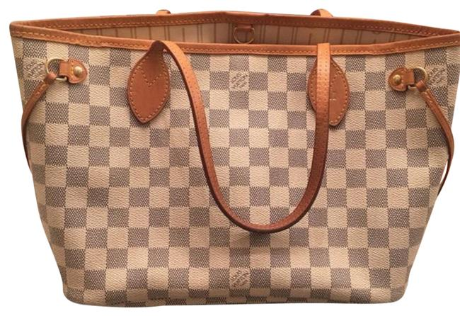 Item - Never Full Pm Multicolor Leather Tote