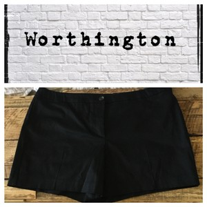 Worthington Dress Shorts Black
