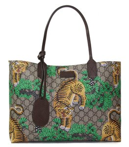 Gucci Crossbody Leather 412096 Bengal Bengal Tote in Multi