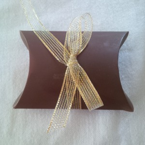 Brown Chocolate Pillow Boxes ~ 150 Count Wedding Favors