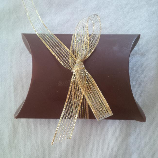 Item - Brown Chocolate Pillow Boxes ~ 150 Count Wedding Favors
