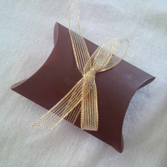 Brown Chocolate Pillow Boxes ~ 150 Count Wedding Favors Image 5