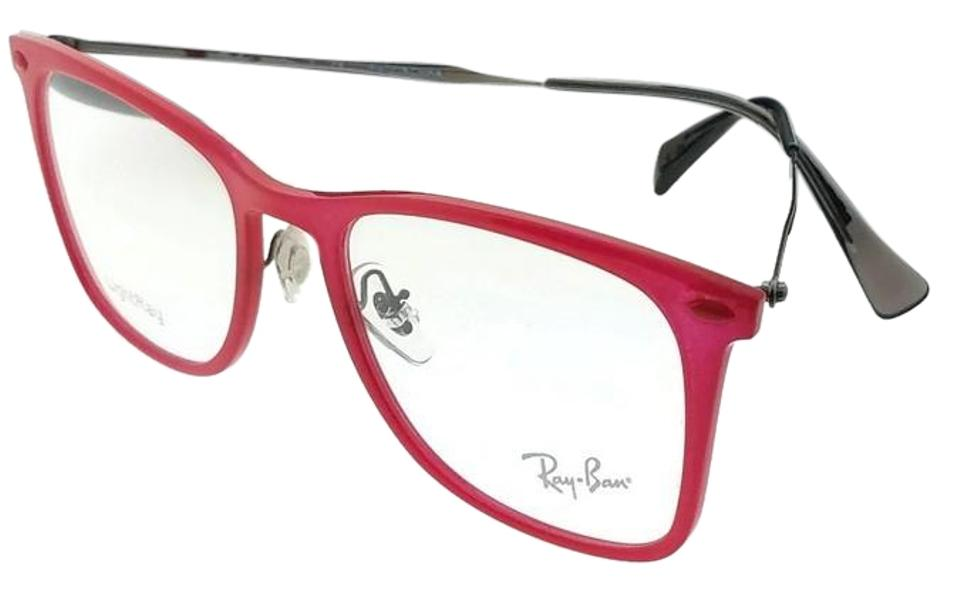 e15be2aaad Ray-Ban Rx7086 -5641 Wayfarer Unisex Red Frame Genuine Eyeglasses ...