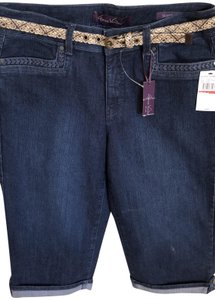 Gloria Vanderbilt Belted New Capri/Cropped Denim
