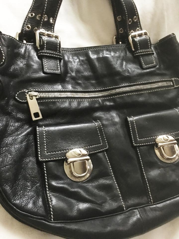84bfb19dcd2e Marc Jacobs New Stella Calf Black Leather Shoulder Bag - Tradesy