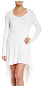 Paper Crane TUNIC COVERUP DRESS Hooded Mini