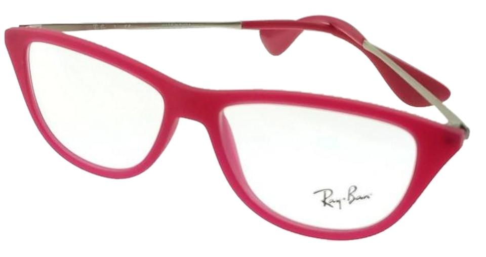 5cf54cfe30f9a Ray-Ban RX7042-5471 Youngster Women s Red Frame Clear Lens Genuine  Eyeglasses Image 0 ...