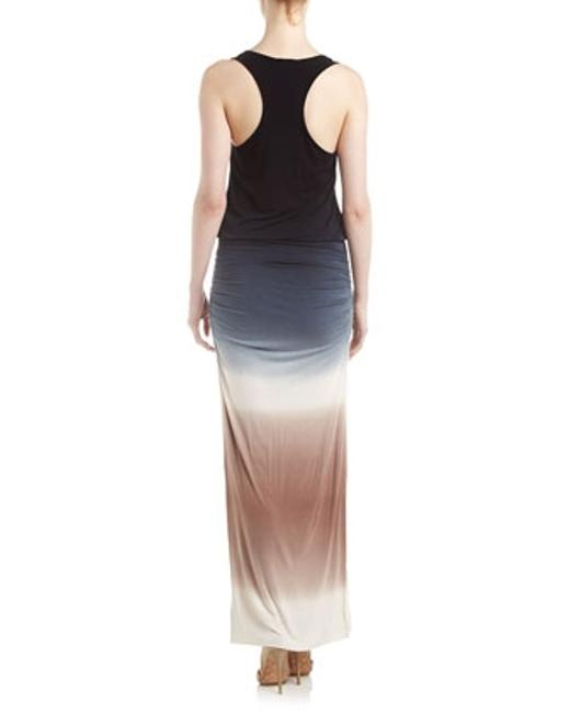 black ombre Maxi Dress by Young Fabulous & Broke Maxi Slit Day Night Flowy