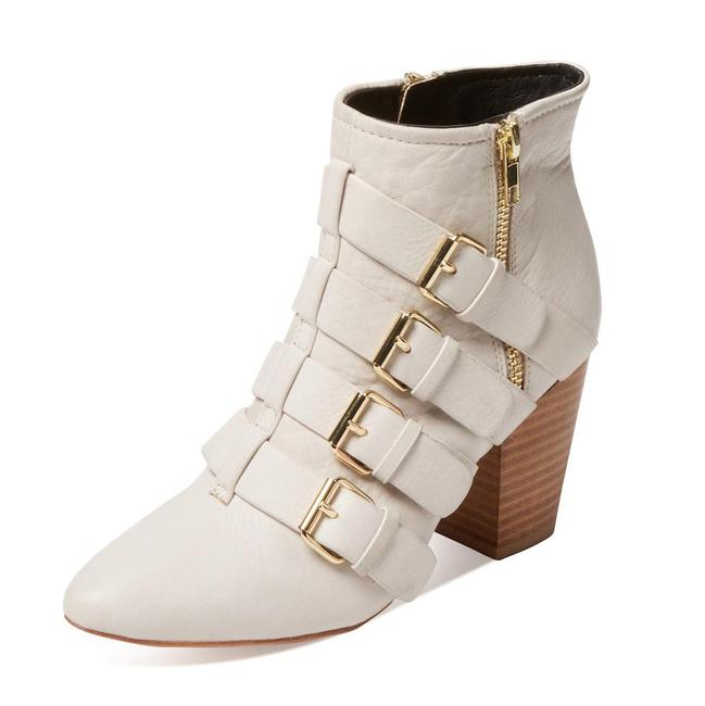 Item - Stone Audrey Leather Ankle Boots/Booties Size US 6.5 Regular (M, B)