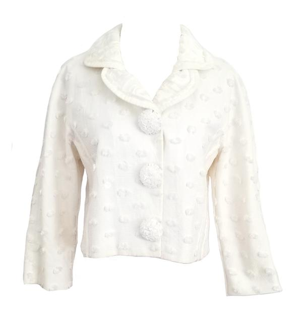 Item - White 2005 Cropped Jacket Size 2 (XS)