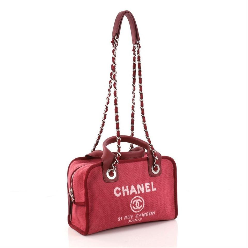 Chanel Canvas Shoulder Bag 1234567