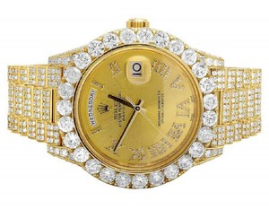 Rolex Mens 18K Day-Date Il 18k President 228238 Diamond 30.5 Ct