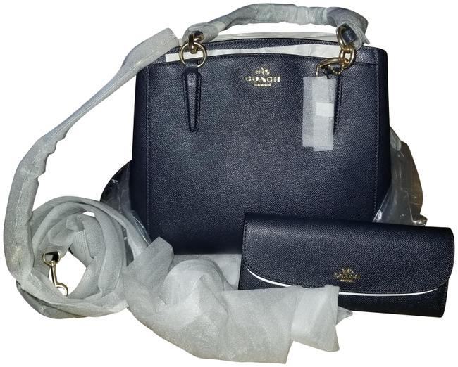 Item - Minetta Purse and Wallet Midnight Blue Leather Cross Body Bag