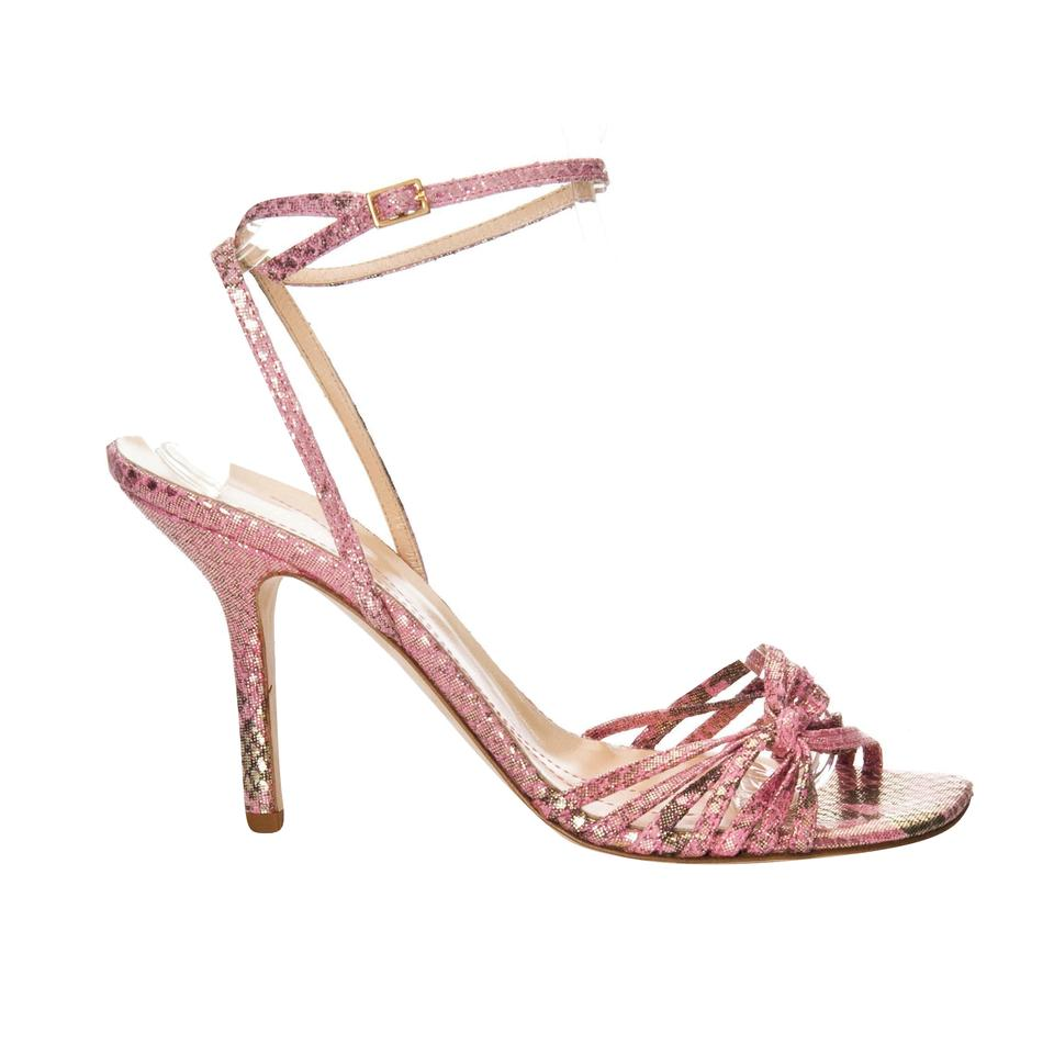 765a04f2c134 Kate Spade New From Her Spring 2005 Snakeskin Print Fabric Sparkle Heels  with Box Formal Shoes