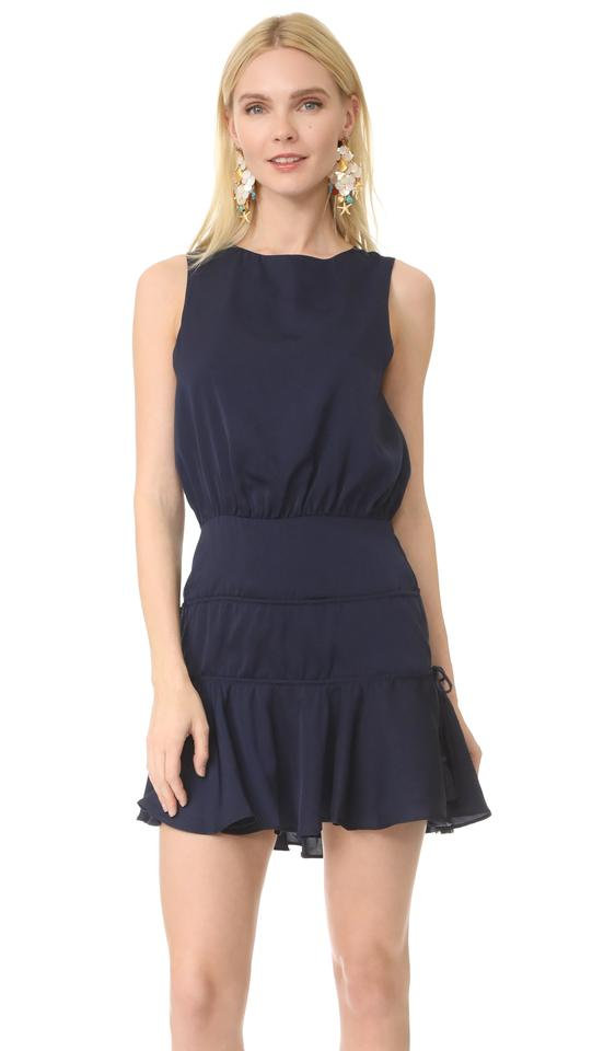 6511b64614 Finders Keepers Navy Stevie Mini Short Casual Dress Size 6 (S) - Tradesy