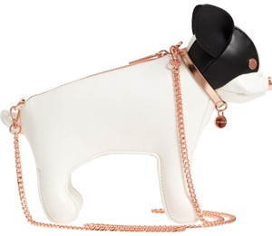 d3eb54c3b81 Ted Baker Pooch Pet Hound Dog Rose Gold Hardware Designer Cross Body Bag