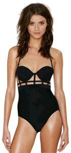 Chromat Nasty Gal Chromat In the Cut Caged Monokini One Piece Swimsuit
