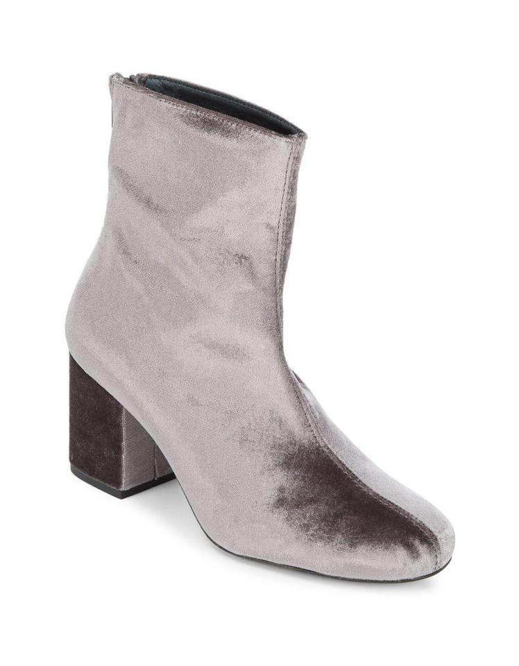 a10f60b7deba5 Free People Grey Cecile Leather Boots Booties Size EU 41 (Approx. US ...