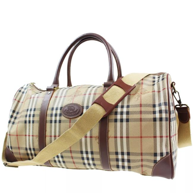 Item - Brown Patent Leather Weekend/Travel Bag