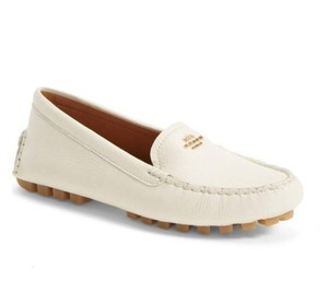 Coach Loafer Amber Chalk Flats