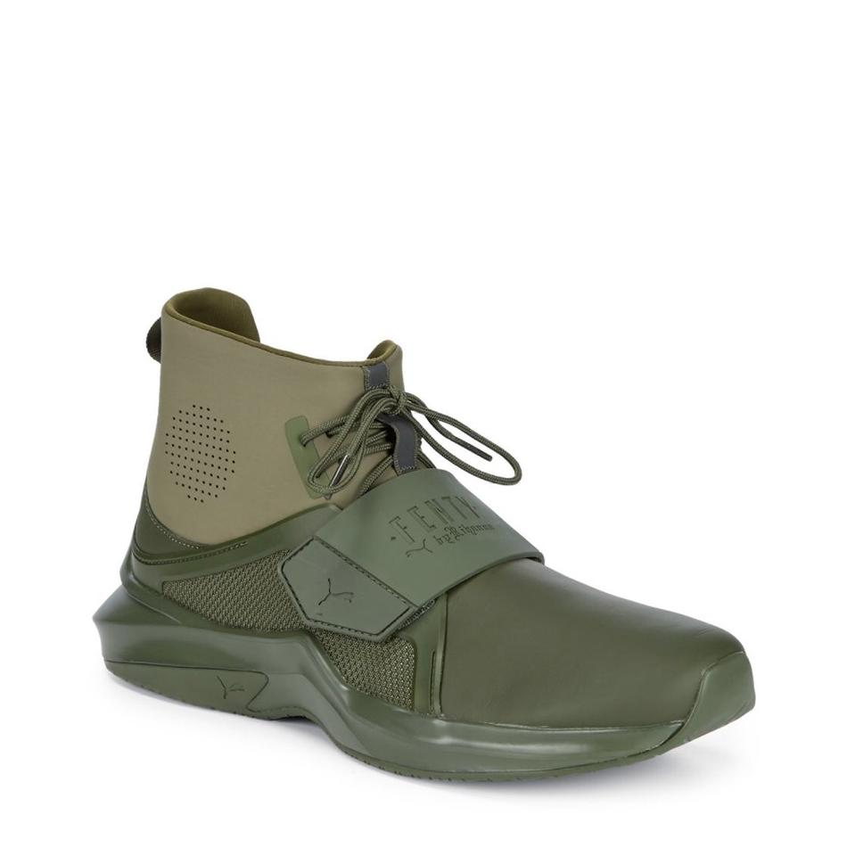 brand new 11db3 d6e1f Olive Green Trainer Sneakers