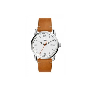 Fossil Fossil Men's Commuter Light Brown Leather Watch FS5395